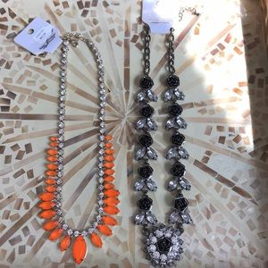 NWT - 2 statement necklaces